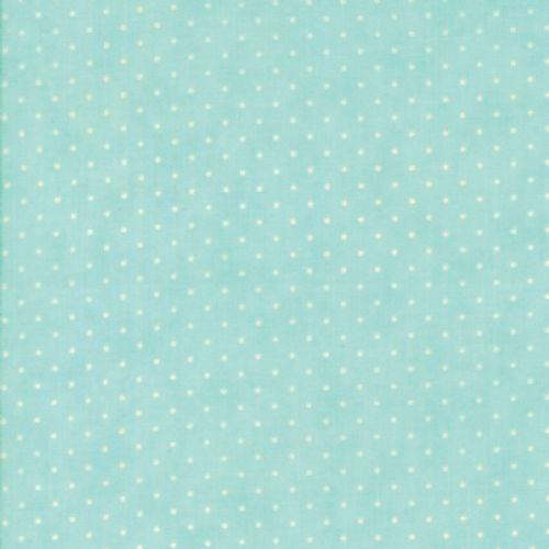Moda - Essential Dots - Robins Egg Fabric